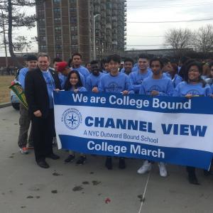 Channel View High School, Queens, NY