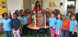 "Two Rivers Public Charter School Pre-Kindergarten students build ""Little Free Libraries"""