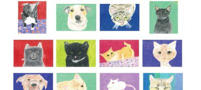 Drawings and Poems about Pets