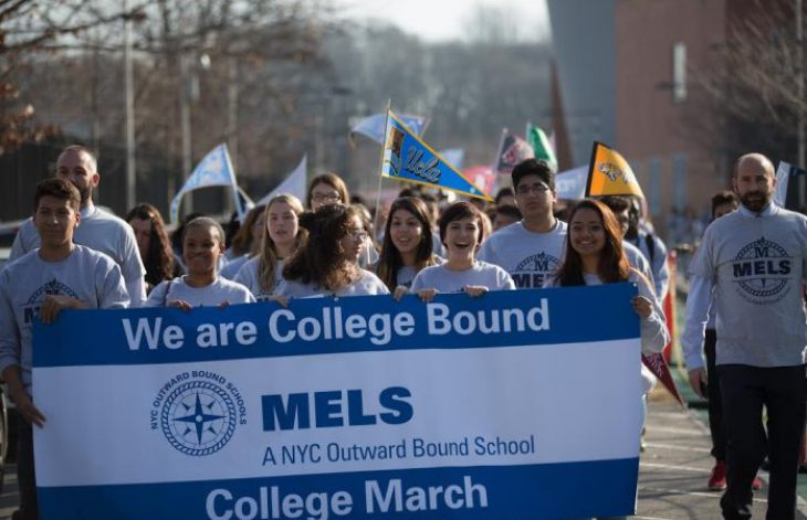 MELS-College-March