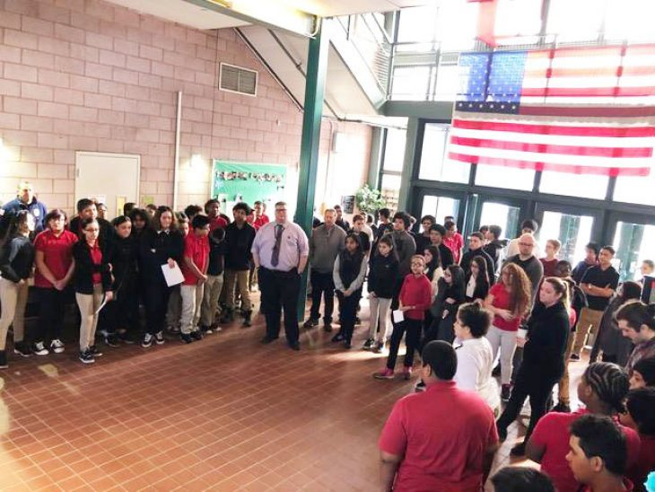 Mc Donough Students Support Peers Hurt By Gun Violence