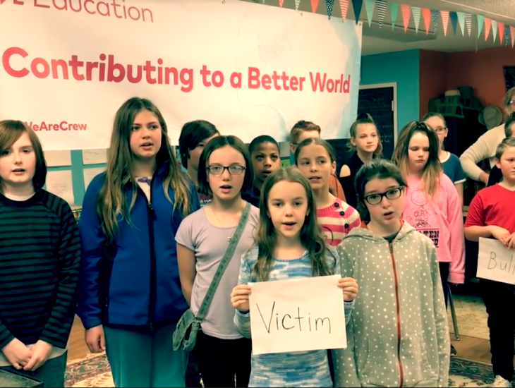 Franklin Students Sing To Stop Bullying And School Violence