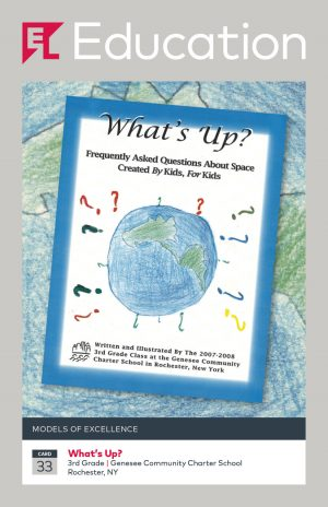 Card 33 - What's Up? Frequently Asked Questions about Space, by Kids for Kids