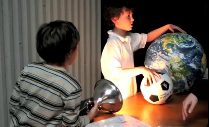 What's Up (Frequently Asked Questions About Space, By Kids, For Kids): Illuminating Standards Video Series