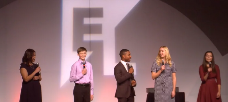 Student Keynote Moments - EL Education 2016 National Conference