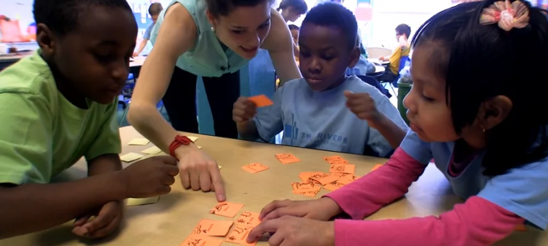 Classroom Protocols in Action: Using an Interactive Word Wall